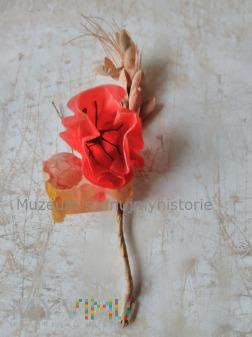 WHW kwiat maku i kłosy zbóż 2