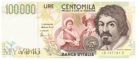 Włochy - 100 000 lirów (1998)