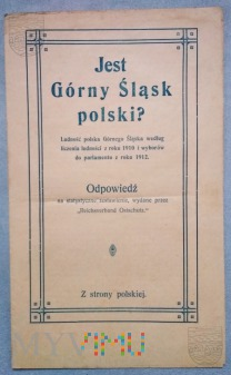 Broszura propagandowa plebiscytowa Polska