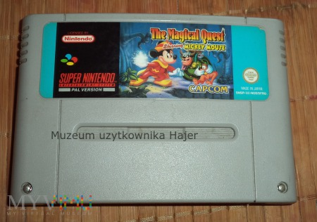 The Magical Quest Starring Mickey Mouse Nintendo