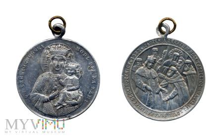 Medalik 550 lat obrazu MB na Jasnej Górze