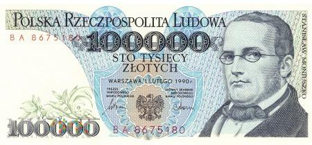 Polska - 100 000 złotych (1990)