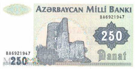 Azerbejdżan - 250 manatów (1992)
