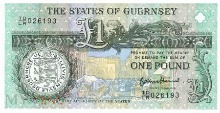 Guernsey - 1 funt (2013)