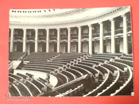 Warszawa Sala Kongresowa Pałac Kultury i Nauki