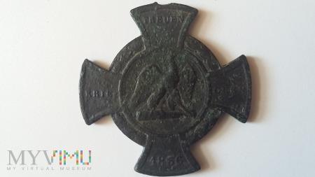 1866 Pruski Krzyż Pamiątkowy Treuen Kriegern