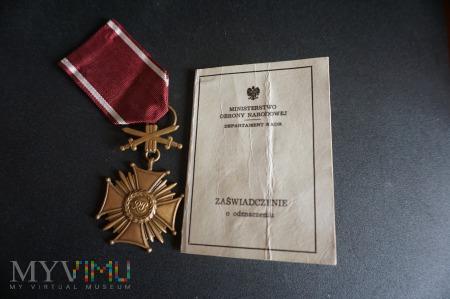 Legitymacja - Zaświadczenie do KZ Z Mieczami