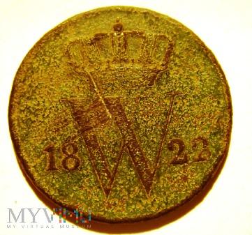 Holandia 1 cent 1822