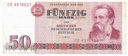 Niemcy (NRD) - 50 marek (1971)