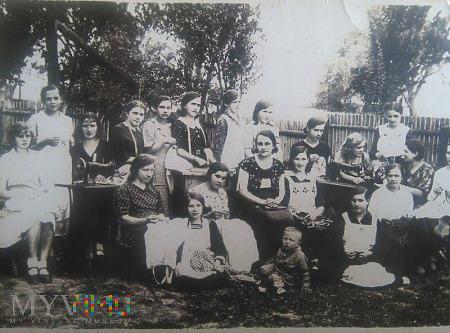 Kurs kroju i szycia - rok 1930