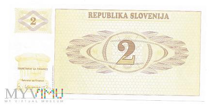 Duże zdjęcie Słowenia - 2 Tolarjevy, 1992r.