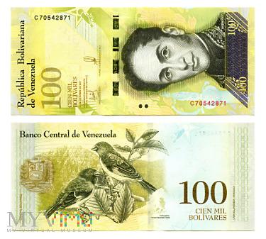 100 000 Bolívares Fuerte 2017 (C 70542871)