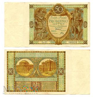 50 złotych 1929 (EC. 1668859)