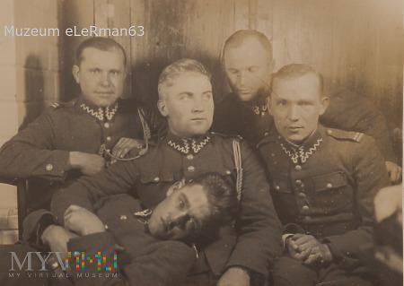 Żandarmi z 10 Dywizjonu Żandarmerii.Przemyśl