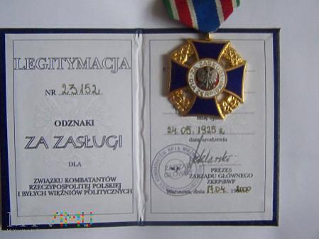 Za Zasługi dla ZKRPiBWP