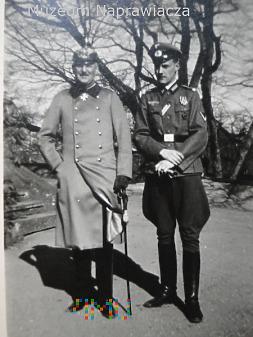 Duże zdjęcie Ojciec i syn dwie epoki