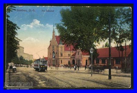 BYTOM Beuthen Dworzec kolejowy