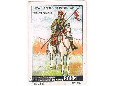 Bohm - 3x10 - Szwoleżer I-go Pułku J. Piłsudskiego