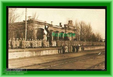 PARCZEW, Dworzec kolejowy