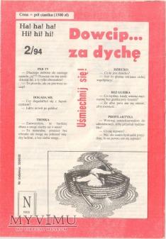Dowcip...za dychę 2/94