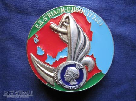Duże zdjęcie 1er escadron, DJIBOUTI 2001.