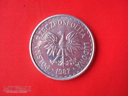 50 groszy 1987 rok