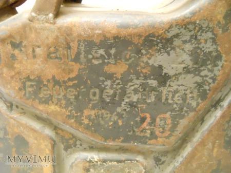 """Kanister 20L 1943' ,,EhB"""""""