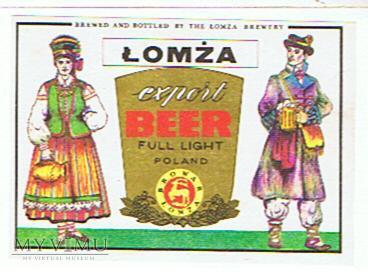 łomża export beer