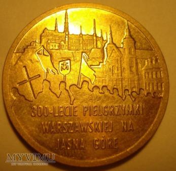 2zł 300- lecie Pielgrzymki Warszawskiej na Jasną G