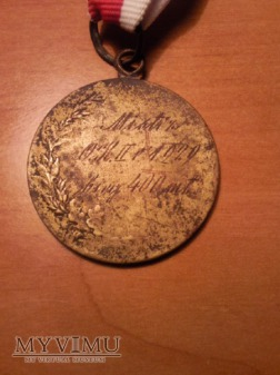 Medal mistrzostwa okręgu II 1929 bieg na 400 m