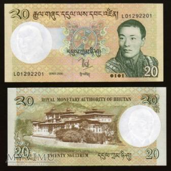 Bhutan - P 30 - 20 Ngultrum - 2006