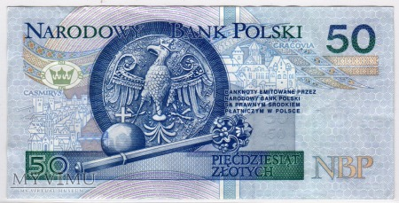 MC 198e - 50 Złotych - 1994