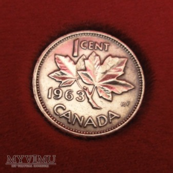 1 Cent CANADA 1963