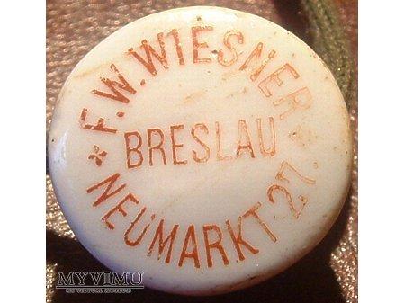 Brauerei zum weißen Haus, F. W. Wiesner,