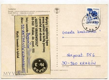 Tarnów - Rynek i ratusz - 1992