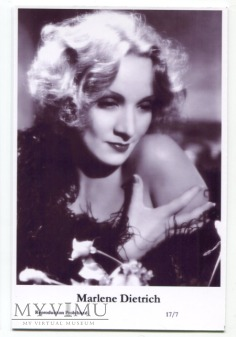 Marlene Dietrich Swiftsure Postcards 17/7