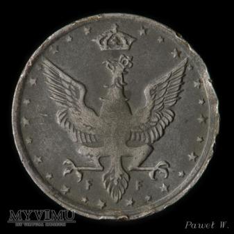 1917 10 fenigów - destrukt (zdwojenie)