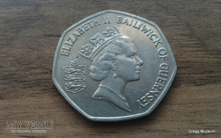 50 Pence-Bailiwick of Guernsey 1997
