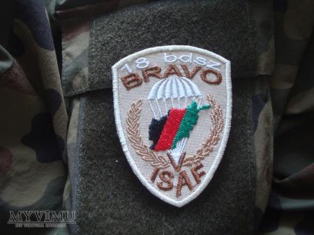 18 BDSz BRAVO V zmiana ISAF - pustynna.