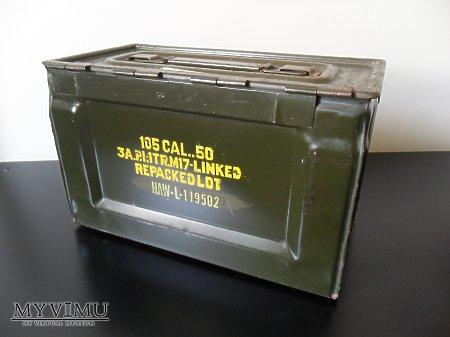 Skrzynka na amunicję 12.7mm do M2