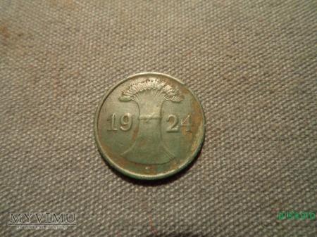 1 Rentenpfennig z 1924r.