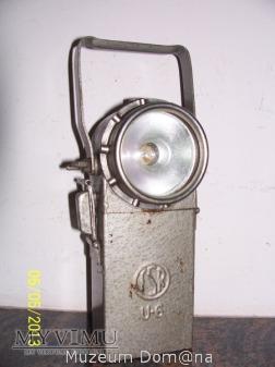 LAMPA AKUMULATOROWA - TYP U-6 - FIRMA FASER - 1973