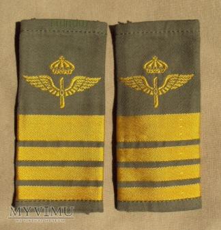 Szwecja - oznaka stopnia flygvapnet: pułkownik