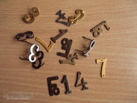 Förbandstecken: oznaki numeryczne