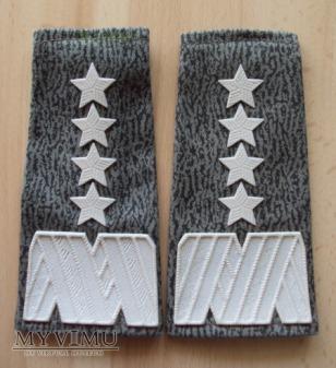 Pochewki z oznakami stopnia - generał armii