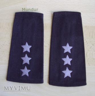 Pochewki z oznakami stopnia - porucznik