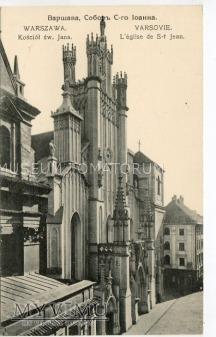 W-wa - Katedra Św. Jana - 1910 ok.