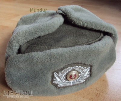 Czapka oficerska NVA zimowa - Wintermütze
