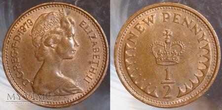 Wielka Brytania, half penny 1979