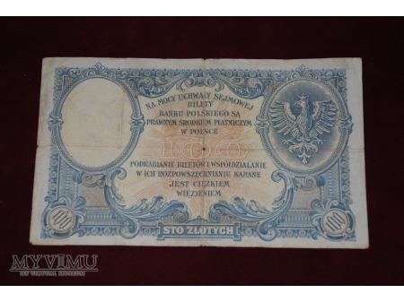 100 złotych,1919. Polska